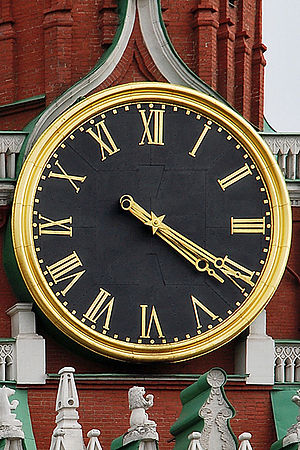 Kremlin Clock - The clock of the Moscow Kremlin