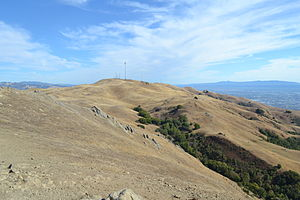 Mount Allison - Image: Mount Allison seen from Mission Peak