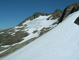Mount Bassie - The western face of Mount Bassie.