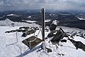 Mount Himekami trig point.jpg