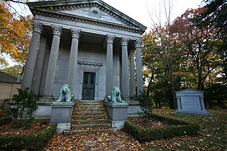 Mount Pleasant Cemetery, Toronto - The Eaton family's mausoleum