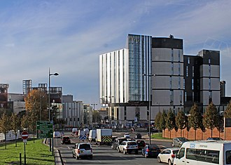 Royal Liverpool University Hospital - The new Royal Liverpool University Hospital due to open in 2018 (on the right)