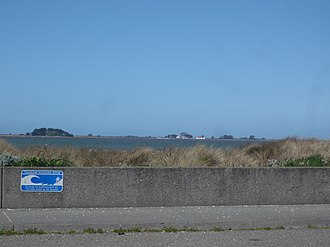 King Salmon, California - Image: Mouth of Humboldt Bay from King Salmon CA