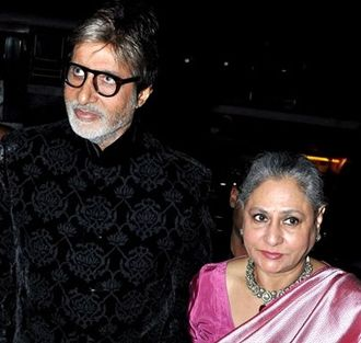 Jaya Bachchan - Jaya with her husband, Amitabh Bachchan