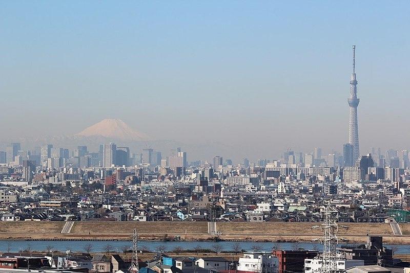 File:Mt.Fuji & Tokyo SkyTree (6906783193).jpg