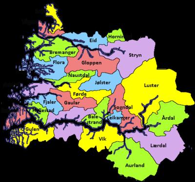 Sogn Og Fjordane DavisHuntercom - Urnes norway map