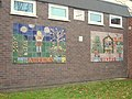 Mural on youth centre in Mold - Autumn and Winter - geograph.org.uk - 298774.jpg