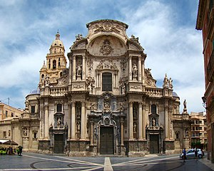 Murcia Cathedral - Cathedral Church of Saint Mary of the Diocese of Cartagena in Murcia