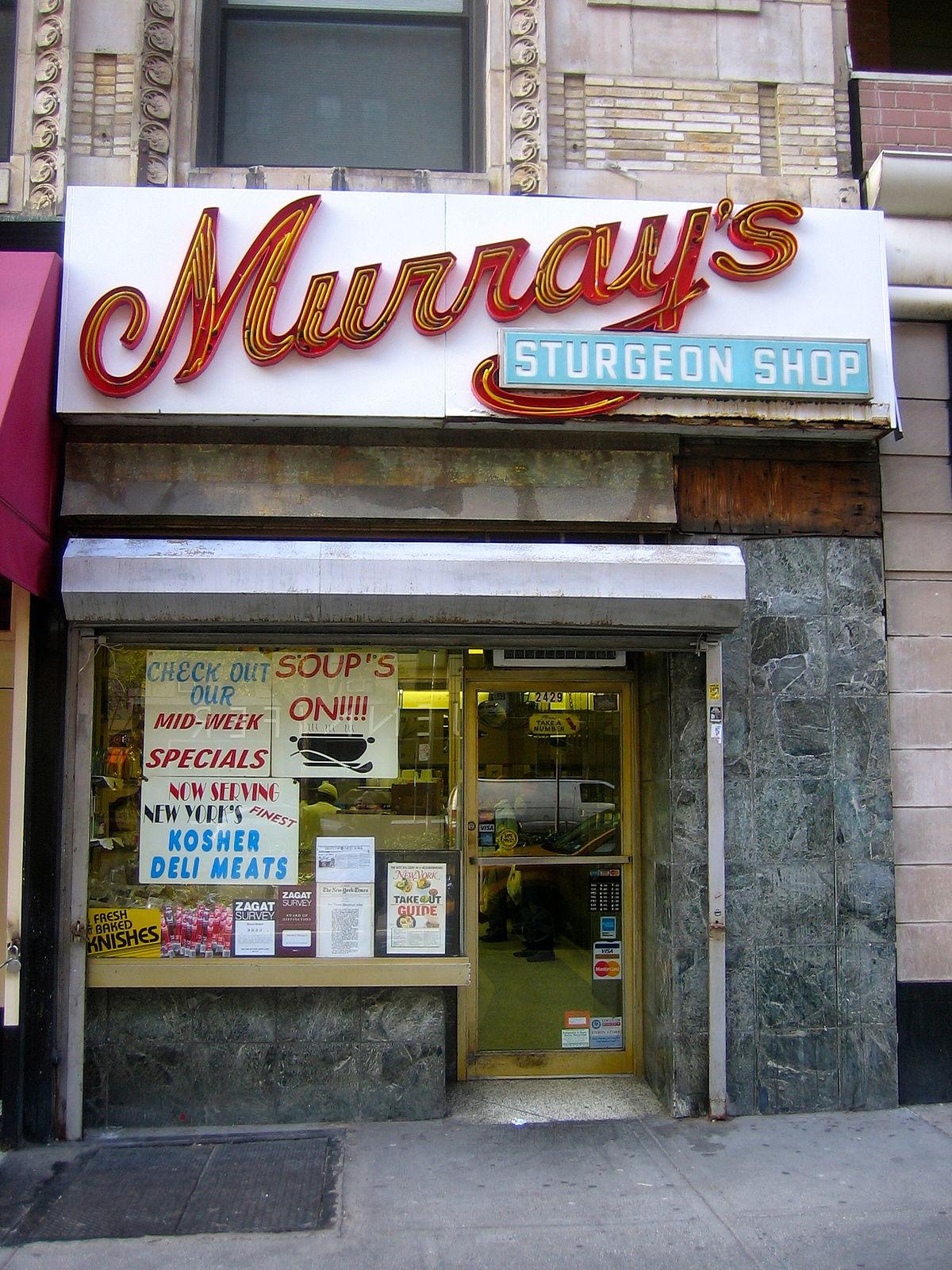 Murray's Sturgeon Shop - Wikipedia