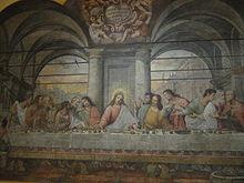 La Cene Leonard De Vinci Wikipedia