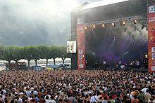 Concert lors du festival Musilac à Aix-les-Bains en 2006