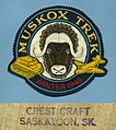 Muskox Trek patch by Crest Craft, winter 1946.jpg