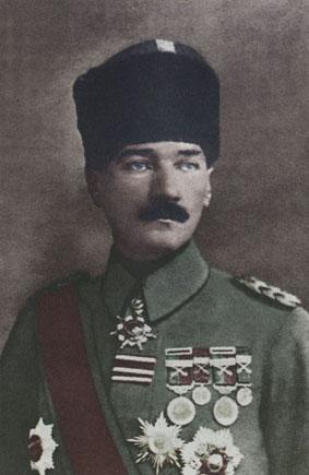 Mustafa Kemal November 1918