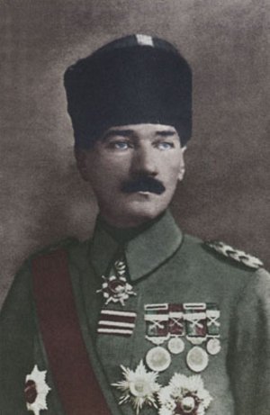 Military career of Mustafa Kemal Atatürk - Mustafa Kemal Pasha in November 1918