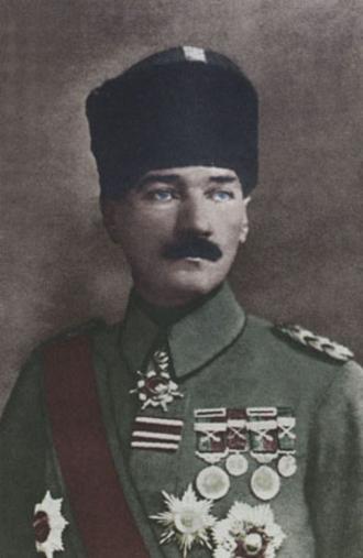 Military career of Mustafa Kemal Atatürk - Mustafa Kemal Pasha in November 1918