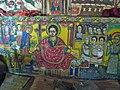 Muurschilderingen in een kerk aan het Tanameer in Ethiopië (6821423633).jpg
