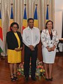 Myriam Telemaque and Pamela Charlette swear in.jpg