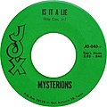 Mysterions, Is It A Lie - Why Should I Love You, side A.jpg