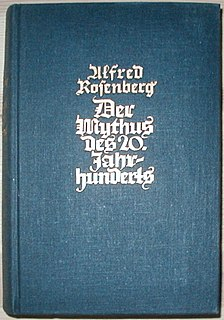 1930 book by Alfred Rosenberg about Nazi ideology
