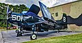 N23827 1949 Douglas AD-4 Skyraider 123827 (VA-195 Dam Busters) (45187052082).jpg