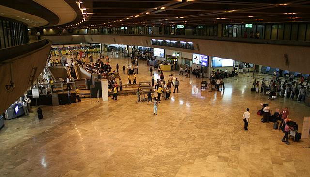 Checking in Ninon Aquino Airport [Public Domain]