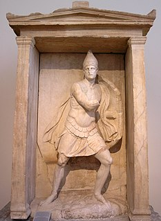 Funerary naiskos of Aristonautes