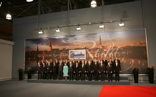 NATO heads of state at the 2006 Summit