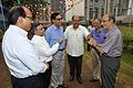 NCSM Dignitaries with Samar Bagchi - MSE Golden Jubilee Celebration - Science City - Kolkata 2015-11-17 4837.JPG