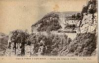 ND 71 - Ligne de Voiron à Saint-BERON - Passage aux gorges de Chailles.JPG