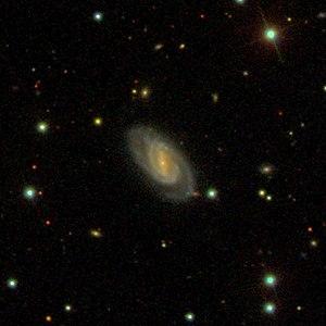 SDSS-Aufnahme der Galaxie NGC 19