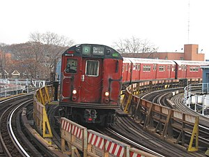 R33 (New York City Subway car) - Image: NYCS R33ML