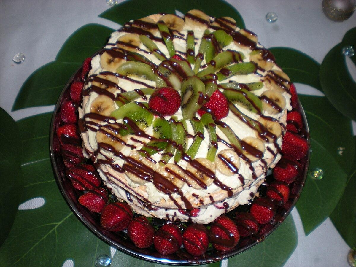 Pavlova Food Simple English Wikipedia The Free