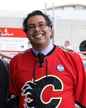 Gifted education - Naheed Nenshi, a mayor of Calgary and an alumnus of the CBE GATE Program.
