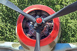 Nakajima Ki-43-II Hayabusa in the Great Patriotic War Museum 5-jun-2014 Engine.jpg