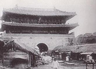 Namdaemun - Image: Namdaemun in the Joseon Period