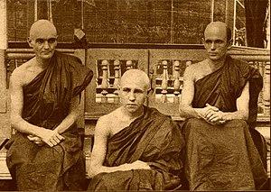 Nyanatiloka - Silacara, Dhammanusari, and Nyanatiloka, Burma, 1907