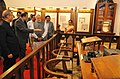 Narendra Modi visiting the Bombay High Court Museum after inauguration, at Mumbai, in Maharashtra. The Governor of Maharashtra, Shri C. Vidyasagar Rao, the Union Minister for Law & Justice.jpg
