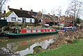 Narrowboats moored on the Medway, Tonbridge - geograph.org.uk - 1199618.jpg