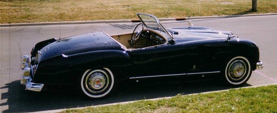 Nash-Healey roadster black
