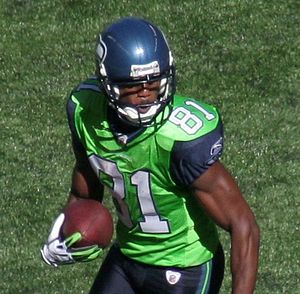 Nate Burleson - Burleson with the Seahawks in 2009.