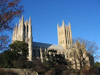 Civil religion - The Washington National Cathedral in Washington, D.C. is often used for state funerals for political leaders.