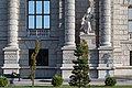 Naturhistorisches Museum Wien 2017 Statue Afrika Antonín Pavel Wagner 1.jpg