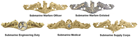 Navy Submarine Warfare Insignia