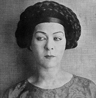 Alla Nazimova - Nazimova in 1919