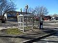 Needham Junction bus shelter, March 2016.JPG
