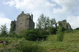 Earl of Wemyss and March - Neidpath Castle