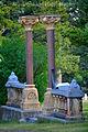 Nelson Story, gravestone family plot, Aug 26, 2012, Sunset Hills Cemetery, Bozeman Montana.jpg
