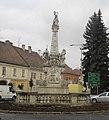 Nepomuki Szent János-emlékoszlop (1744) - Mosonmagyaróvár, Deák Ferenc tér, Moson 1.jpg