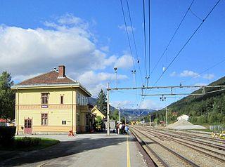 Nesbyen Station railway station in Nes, Norway