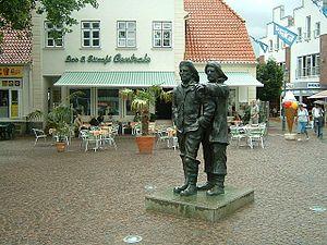 Neustadt in Holstein - Image: Neustadt holstein marktplatz 3